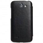 KALAIDENG Protective PU Leather Case Cover Stand for HUAWEI G730 - Black
