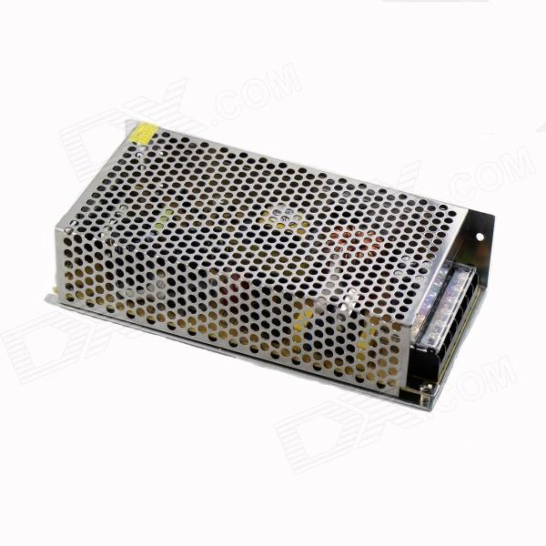 S-180W-12 AC 110~220V to DC 12V 15A 180W Switching Power Supply - Silvery GreyOther Accessories<br>BrandN/AModelS-180W-12MaterialAluminum alloy housingForm  ColorSilver GreyQuantity1 DX.PCM.Model.AttributeModel.UnitPowerOthers,180WRate Voltage220VWorking CurrentAC INPUT 110/220V DC OUTPUT 15 DX.PCM.Model.AttributeModel.UnitPacking List1 x Power supply<br>
