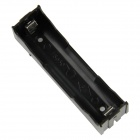 DIY 1-Slot 18650 Battery Holder with Pins - Black