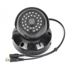 "HOM-603 Rechargeable 1/4"" CMOS 300KP CCTV Camera w/ TF / 29-IR LED Night Vision - Black"