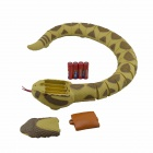 307 Cellphone Bluetooth 27MHz 2-CH R/C Rattlesnake - Yellow + Multicolored (4 x AAA)