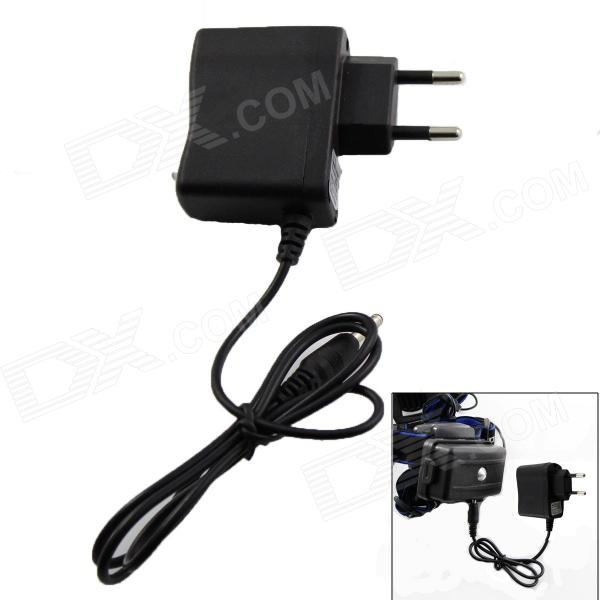 KU20 Universal EU Plug 4.2V Power Adapter for Headlamp (AC 100~250V) for sale in Bitcoin, Litecoin, Ethereum, Bitcoin Cash with the best price and Free Shipping on Gipsybee.com