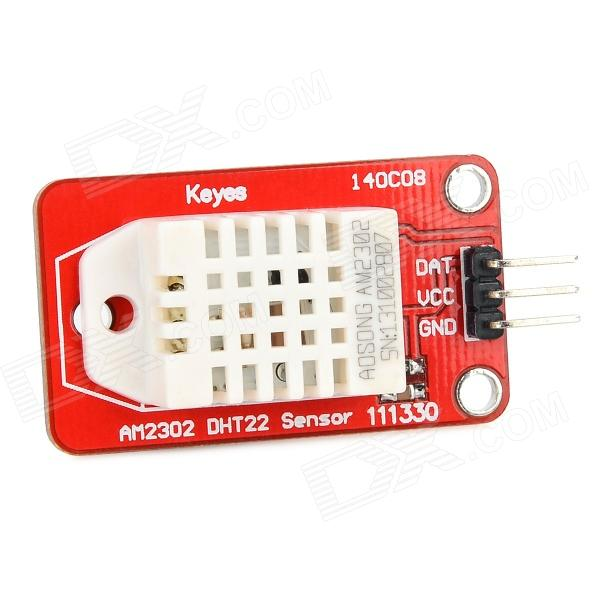 Keyes DHT22 FR4 Temperature / Humidity Sensor Module for Arduino - Red + White
