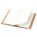 WH-1172 ecopelle copertura 72K Notebook Notepad - grigio + bianco