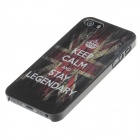 """Keep Calm and Stay Legendary"" Protective Plastic Case for IPHONE 5 / 5s"