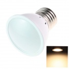 E27 3W 120lm 3000K 5 x SMD 2836 LED Warm White Light Lamp Bulb - White (AC 220~240V)