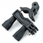TOZ TZN-DC03A Double Sides Bicycle Stand Holder for Gopro Hero 4/ 3+ / 3 / 2 - Black