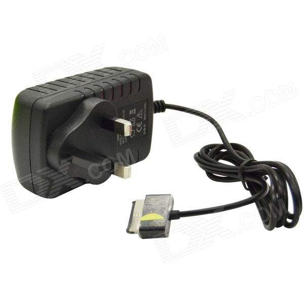AC Power Charger Adapter for Asus TF300T / TF700T / TF201 / TF101 - Black (UK Plug / AC 100~240)