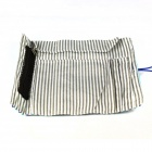 Navy Cloth Portable Make Up Cosmetic Brush Pack Bag