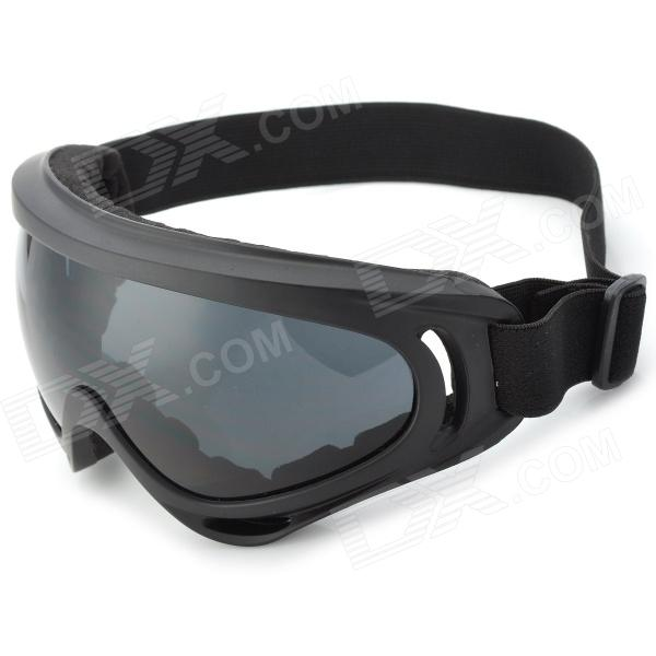 Stylish Sports UV400 Protection Skiing Goggles - Black for sale in Bitcoin, Litecoin, Ethereum, Bitcoin Cash with the best price and Free Shipping on Gipsybee.com