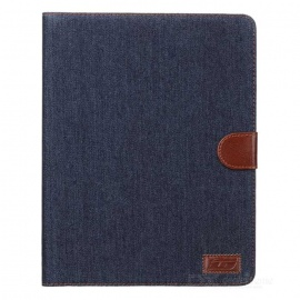 Protective-Flip-Open-PU-Leather-2b-Plastic-Case-w-Stand-Card-Slots-for-IPAD-2-3-4-Black-Blue