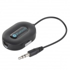 BM-E9 Bluetooth Audio Receiver w/ Hands-Free / 3.5mm - Black + Blue