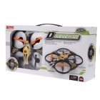 X-35 360 Degree Eversion Mini Wireless Remote Control 4.5-CH 3 Axis Aircraft - Black + Yellow