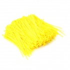 Self-lock-Nylon-Cable-Wire-Ties-Yellow-(1000-PCS)