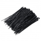 Self-lock Nylon Cable / Wire Ties - Black (200PCS)