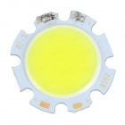 5W 350lm Cold White Light Round Shaped COB LED Module (15~17V)