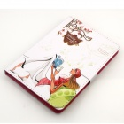 Cute Series Protective PU Leather Case Cover Stand w/ Auto Sleep for IPAD AIR - Multicolored