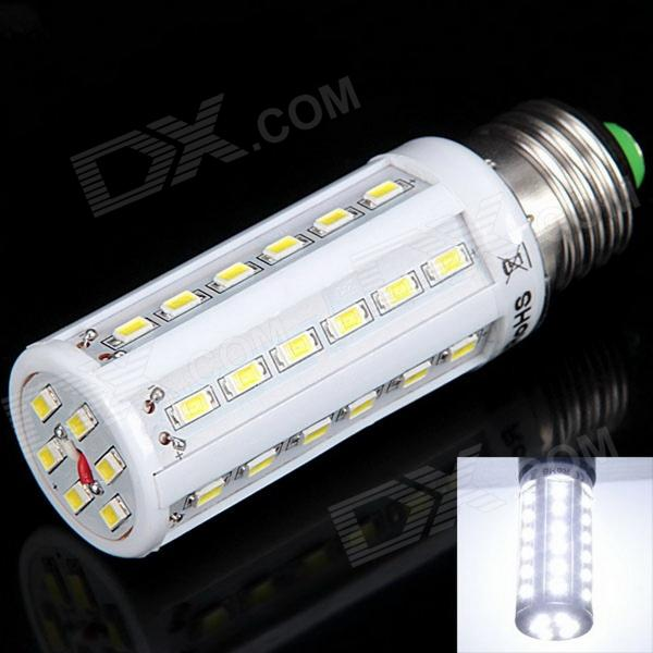 E27 13W 504lm 6000K 42-SMD 5630 LED White Light Corn Lamp - White (85~265V)