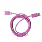 KS-318 High Speed USB 3.0 to Micro-B Data Charging Cable for Samsung Galaxy Note 3 - Deep Pink