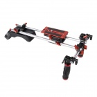 DEBO DE-918 Hands-Free Shoulder Mount Support for SLR Camera - Black + Red + Silver