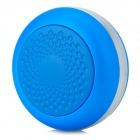 OYK OK-20 Rechargeable Bluetooth 2.1 Mini Portable Speaker - Blue + Silver