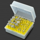 50-in-1-Electric-Grinding-Accessory-Diamond-Alloy-Rod-Mills-Kit-Silver