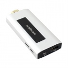 Quad Core Android TV Dongle Support Airplay Mirroring for Apple & Wi-Fi Router w/ 1GB RAM, 8GB ROM