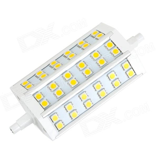 R7S 6W 210lm 3000K 36-SMD 5050 LED Warm White Dimming Bulb (85~265V)