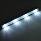 UltraFire 0403 2W 100lm 4-LED White Motion Sensor Cabinet Light - Silver (3 x AAA)