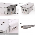 "Kinrener DH800 Waterproof 1/4"" CMOS 800lines CCTV Camera w/ 2-IR-LED / Holder / Power Adapter"