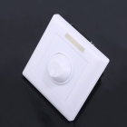 220V Trailing Edge Infrared Remote Triac Timing Dimmer - White (1 x CR2024)