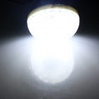 ZHISHUNJIA E27 7W 600lm 6500K 27-LED White Light Light-operated Body Induction Lamp Bulb - (85~265V)
