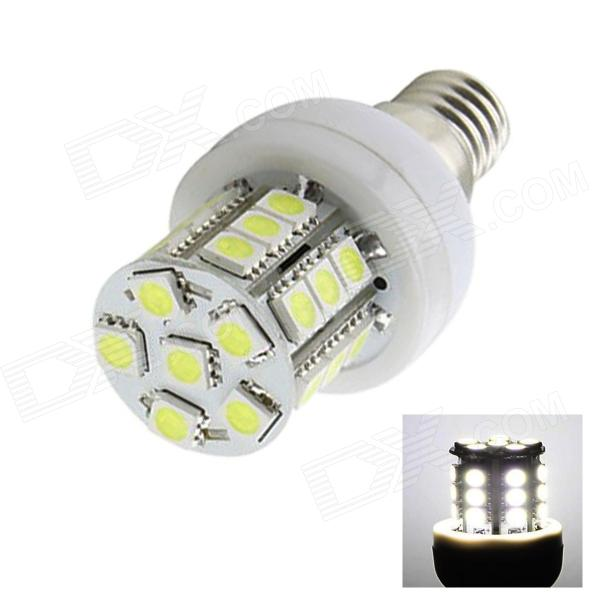 E14 5W 120lm 27-SMD 5050 LED kalte weiße Lampe (Wechselstrom 220 ~ 240V)