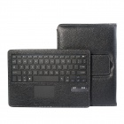Bluetooth V3.0 64-Key Keyboard w/ Touchpad + PU Leather Case Cover for Samsung Galaxy Note 10.1 P600