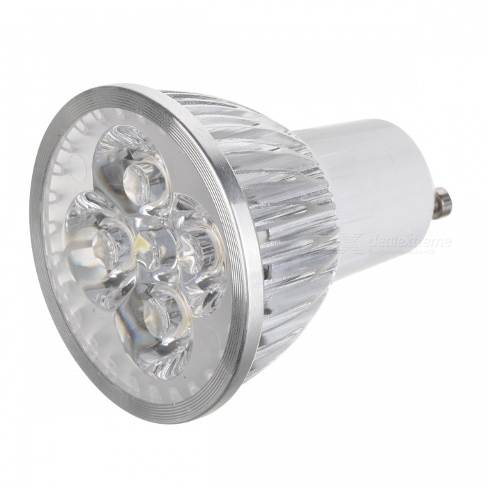 G10 4W 300-Lumen 6500K Cold White Light 4-LED Cup Bulb (85-265V)