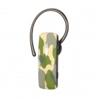ROMAN R520 Bluetooth V3.0 Stereo Headset w/ Microphone - Camouflage Green