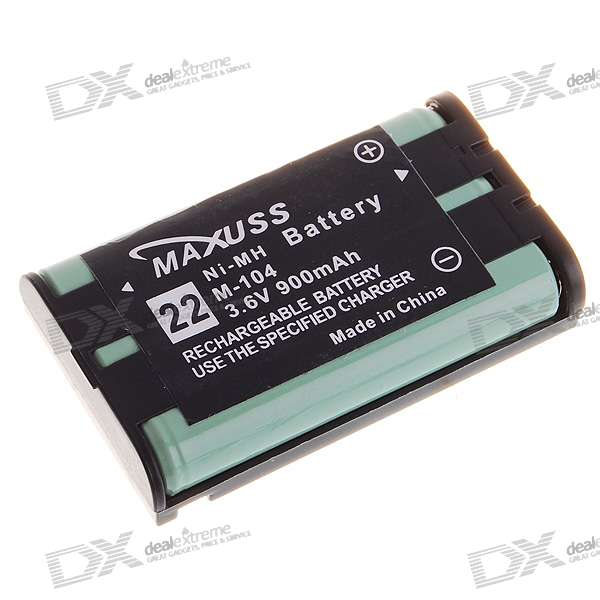 Maxuss M-104 3.6V 900mAh Rechargeable Ni-MH Batteries for Cordless Phone