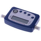 SF-9505A Digital Satellite Finder / Signal Receiver w/ Compass - Blue