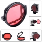 Fat-Cat-58mm-Underwater-Color-Correction-Filter-Dive-Filter-w-Flip-Converter-for-GoPro-Hero-3-Red