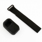 Elastic Wrist Belt Silicone Protective Case for GoPro Hero3+/3 Wi-Fi Remote Control - Black
