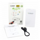 EDUP EP-9511N 6-in-1 3G Wireless Wi-Fi Modem w/ 8000mAh Power Supply + SD Expansion + More - White