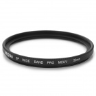 BRODA 52mm Multi Coat MC-UV Filter Lens - Black
