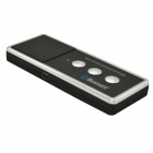 X3 Portable Rechargeable Bluetooth V4.0 Cell Phone Handsfree Speaker Car Kit - Black + Silver