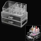Plastic Cosmetic Organizer - Transparent