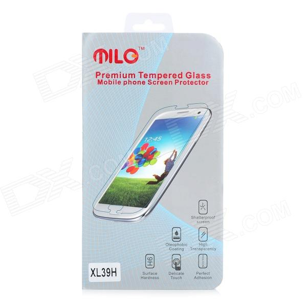 Milo Protective Tempered Glass Screen Protector for Sony XL39h