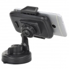 Universal 360 Degree Rotate ABS Car Mount Holder for Mobile Phone - Black