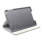 Palace Emboss PU Leather Case Cover Stand w/ Auto Sleep for RETINA IPAD MINI / IPAD MINI - Brown