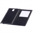 Smart Protective Case w/ QI Standard Wireless Charging Receiver for Samsung Galaxy Note 3 - Black