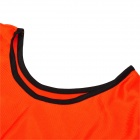 B109 Outdoor Sports Polyester Vest - Fluorescent Orange (Free Size)