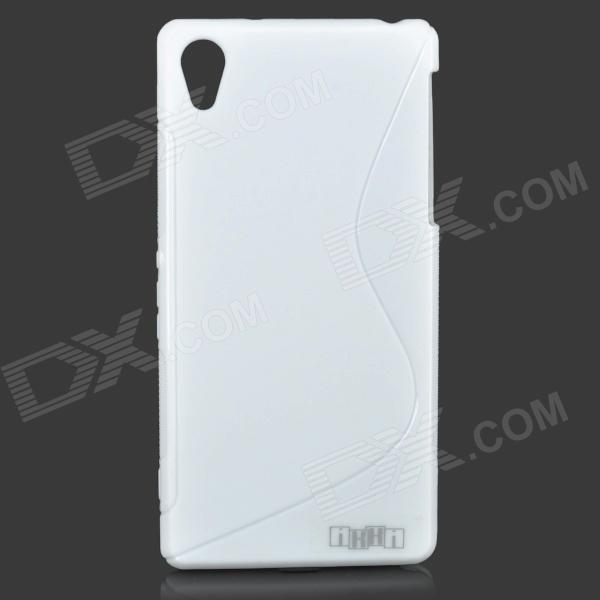 IKKI Protective ''S'' Shaped Anti-skid Protective TPU Back Case for Sony Xperia Z2/D6503 - White